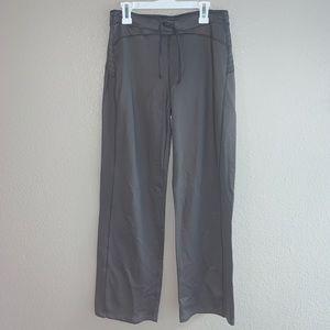 Alo Gray Yoga Pants Cool Fit Sz Small